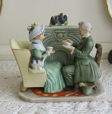 $ CDN27.69 • Buy NORMAN ROCKWELL Victorian Figurine  Vintage Times  By Gorham~Made In Japan~