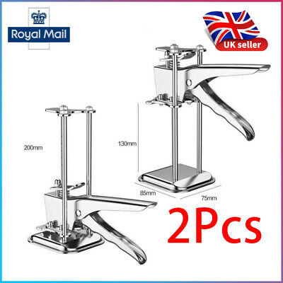 £14.99 • Buy 2Pcs LABOR-SAVING Arm Stainless Steel Tile Locator Wall Leveling Lifting Tool UK