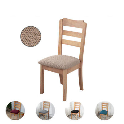 AU14.99 • Buy 2x Hotel Office Elastic Dining Fashion Household Velvet Chair Cover Simple Seat
