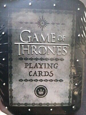 £9.99 • Buy Game Of Thrones Playing Cards Tin