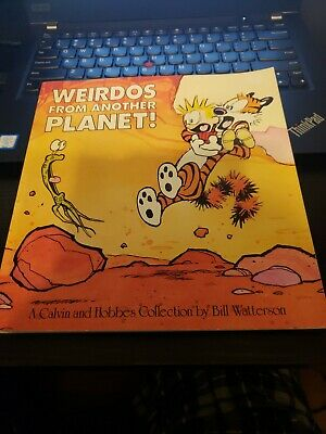 £7.20 • Buy Calvin And Hobbes: Weirdos From Another Planet! 1990 Bill Watterson EUC Book