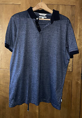 £0.99 • Buy Marks And Spencer Cotton Polo Shirt Mens Size L