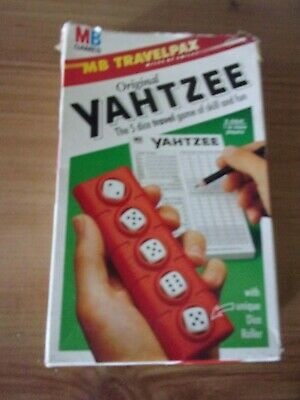 £2.95 • Buy Vintage 1992 - MB Travel Games - YAHTZEE- Complete & Boxed
