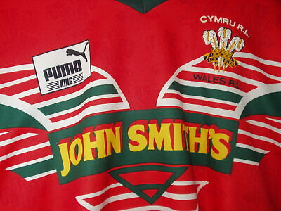 £31.99 • Buy Wales Rugby League World Cup Shirt Medium Phillips