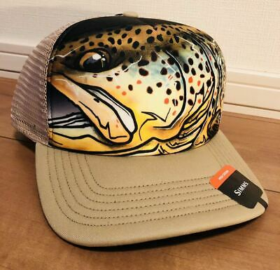 £79.06 • Buy Sims Brown Trout Cap Hat Simms Comic-Com Price For Lure Fly Fishing Inspection