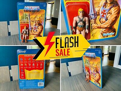 $29.97 • Buy 🔥 NEW He-Man ReAction 2015 MASTERS OF THE UNIVERSE MOTU Super 7 MOC 3.75 IN 🔥
