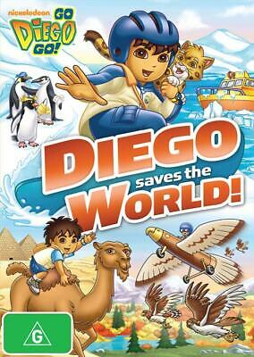 £3.18 • Buy Go Diego Go! - Diego Saves The World (2011, DVD, Rgn 4) 6 Episodes, 5 Seasons.
