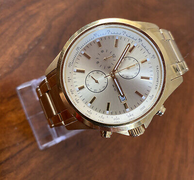 £49 • Buy Citizen Chronograph Watch Gold 0501-S086051 Excellent GWO  (W2)