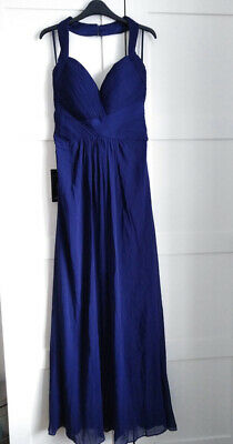 £17 • Buy BNWT EVER PRETTY Navy Party Long Bridesmaid Dress / Evening Prom Gown - Size 12