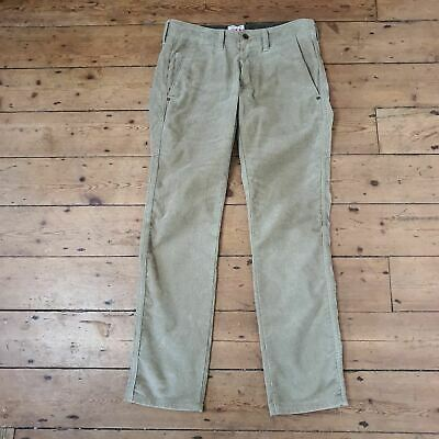£45 • Buy EDWIN 55 Beige Chino Cords Button Fly Mens W30 L32