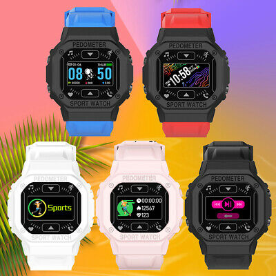 AU15.78 • Buy Smart Watch Men Women Children Sport Watches For Ios Android Phone USB Recharge
