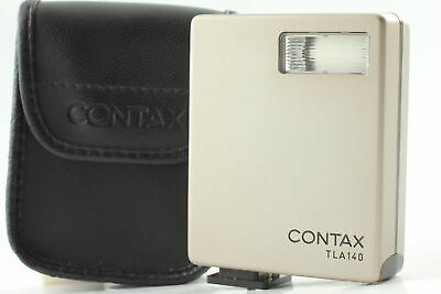 $ CDN94.40 • Buy [MINT Tested] Contax TLA140 Shoe Mount Flash W/ Case For G1 G2 From JAPAN