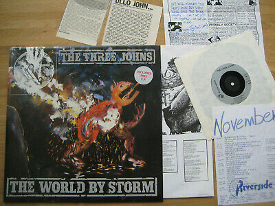 £29.99 • Buy The Three Johns  Taking The World By Storm  Vinyl LP + EP + Autographs, 1986
