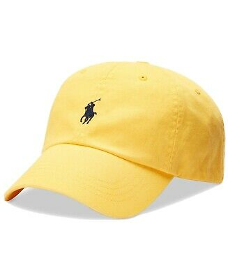£19 • Buy Polo Ralph Lauren Cap Hat, Yellow With  Logo RRP £35+ New With Tags Original