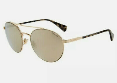 £37 • Buy Women's Ralph Lauren Gold Tone Sunglasses With Case New And Genuine