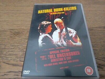 £1 • Buy Natural Born Killers (DVD, 2003) Special Edition: Full Uncensored Director's Cut