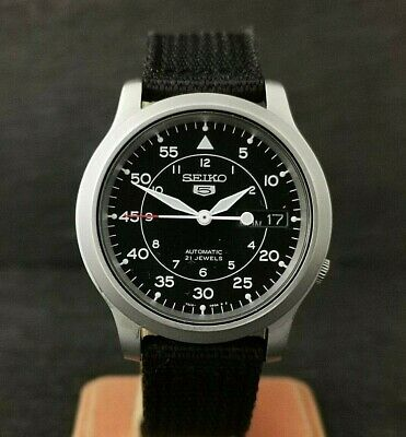 $ CDN129.83 • Buy SEIKO 5 Military Automatic 21 Jewels Day Date 7S26-02J0 Excellent Condition.