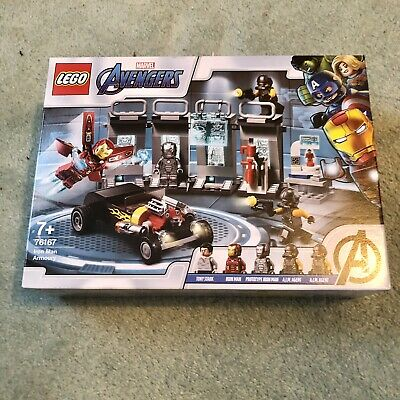 £17 • Buy LEGO 76167 Super Heroes Marvel Avengers Iron Man Armory, Hall Of Armor Extension