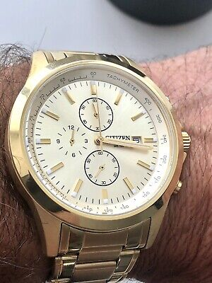 £60 • Buy Citizen Mens Gold Chronograph Watches Never Worn