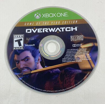 AU21.88 • Buy Overwatch Game Of The Year Edition Xbox One (disc Only) Tested And Working ML137