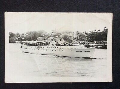£1.25 • Buy A Battered Photograph Of The MV Eastern Princess On The River Yare - C1950s.