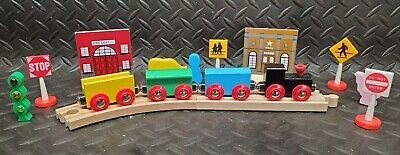 £7.26 • Buy Wooden Toy Train Track Set _ Lot