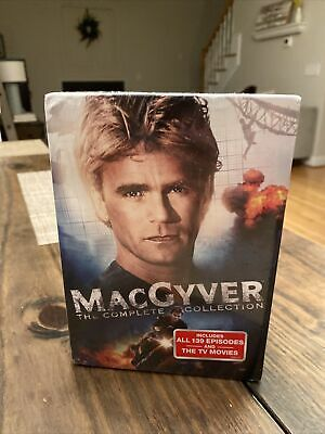 $88.99 • Buy MacGyver - The Complete Series Collection (DVD 39-Disc Set) - Sealed In Box TV