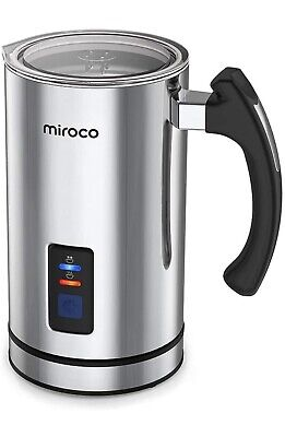 $8 • Buy Miroco Milk Frother Electric Milk Steamer Stainless Steel Automatic Hot