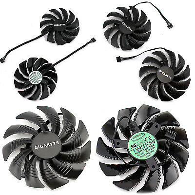 AU17.52 • Buy Replacement Graphics Card Cooling Fan For Gigabyte GTX1060 1070 1080Mini ITX