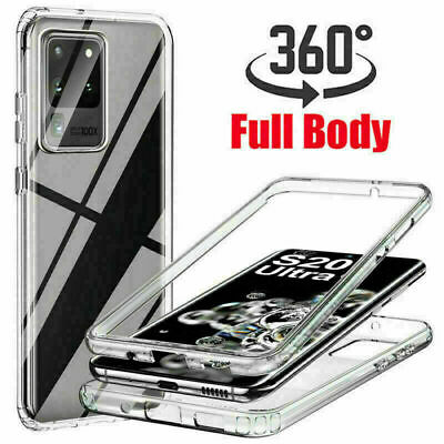 AU11.99 • Buy Case For Samsung S20 FE A32 A52 A72 S21 Shockproof 360° Soft Protect Clear Cover