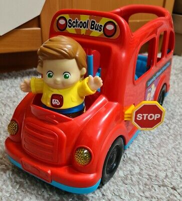£10.99 • Buy VTech Toot Toot Learning Wheels School Bus With Mr Gavin Great Working Condition