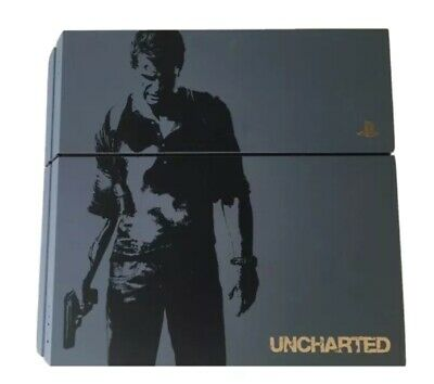 AU190 • Buy PS4 Console 1tb Limited Edition Uncharted. Postage Available With Insurance