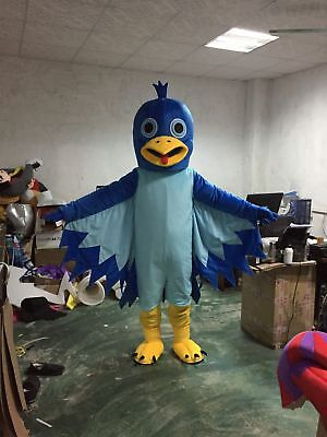 £155.70 • Buy Cosplay Eagle Mascot Costume Woodpecker Animal Dress Parade Deluxe Outfit Suits