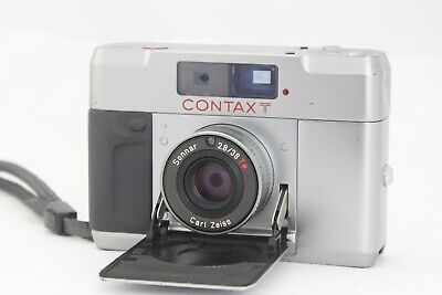 $ CDN478.35 • Buy 【Opt・MINT】 CONTAX T Silver Rangefinder 35mm Film Camera From Japan A921