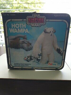 $ CDN16.62 • Buy Vintage Star Wars Figures Original Complete, Hoth Wampa With Palitoy Box
