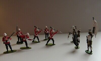 £3.99 • Buy Zulu Wars 24th Foot Toy Soldiers & Zulu's X 9 A Call To Arms