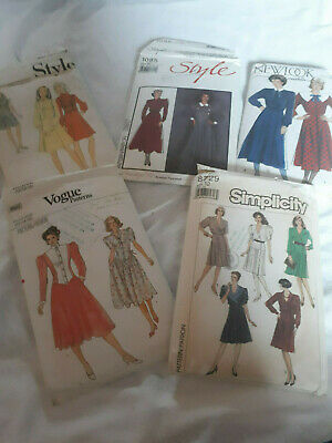 £14.99 • Buy 5 X Vintage Ladies Sewing Patterns Size 12, New Look, Style, Simplicity, Vogue