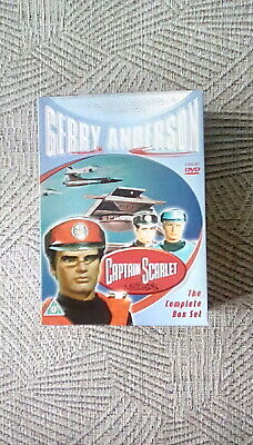 £24 • Buy Gerry Anderson's - Captain Scarlet And The Mysterons - Complete  Boxset