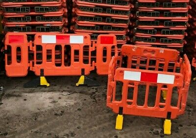 £843.60 • Buy 38 Road Barriers Traffic Management Chapter 8 Pedestrian Plastic Safety Barrier