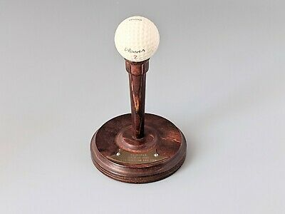 £8 • Buy Vintage 1965 Golf Hole In One Trophy Tee And Golf Ball Rishton Golf Course Lancs