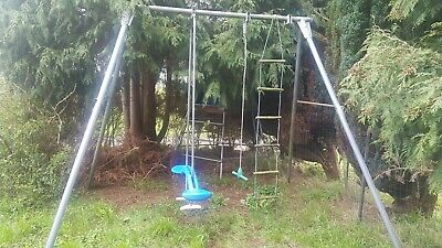 £1.99 • Buy TP Toys Double Giant Swing Incl Skyride & Ladder & Swinging Rope(incl Instructs)