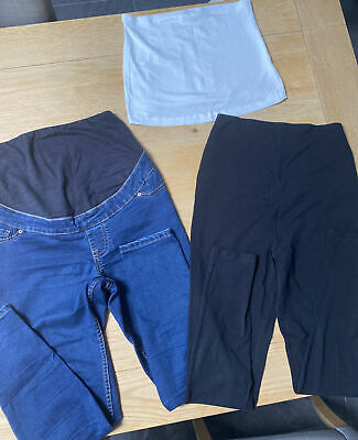 £4.99 • Buy New Look Maternity Jeans And Leggings Set Size 8 / 10