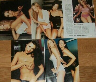 $ CDN25 • Buy Lori Huering SUSAN Ward FULL PAGED Magazine CELEBRITY CLIPPINGS Photos Article