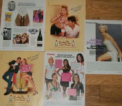 $ CDN25 • Buy Jaime Pressly FULL PAGED Magazine CELEBRITY CLIPPINGS Photos Article #2