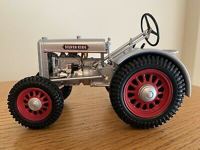 AU73.37 • Buy 1937 Plymouth Silver King 1/16 Farm Tractor Toy Replica By SpecCast