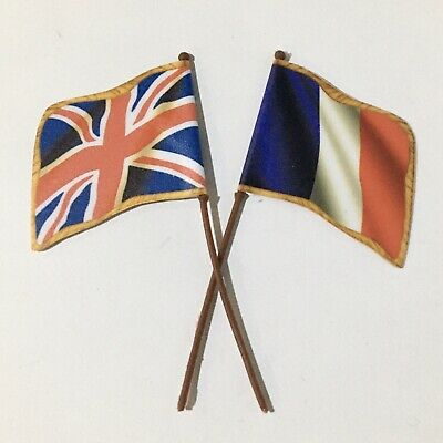 £3.85 • Buy Britains Deetail Napoleonic Replacement French/British Flags & Poles X2