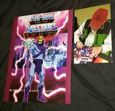 $49.99 • Buy Alan Oppenheimer Signed Skeletor He Man Masters Of The Universe 8x10 Photo Proof