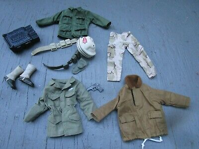 $ CDN12.58 • Buy LOT 1/6 Scale 12  Figure Camo Clothes Army Jackets Accessories Weapons GI Joe