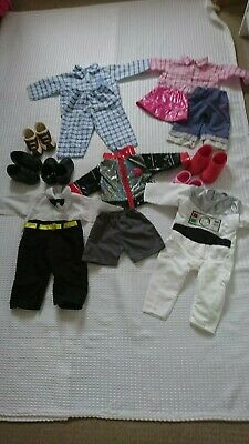 £24.99 • Buy Smoby 24  Doll Roby/rosie/roxanne Etc 5 Pairs Of Shoes,pyjamas&clothes Bundle