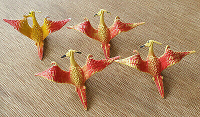 AU24.99 • Buy Dungeons And & Dragons D&D Vintage Chinasaur Pterodactyl Figure Lot X4 Hong Kong